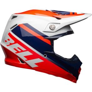BELL HELMETS MOTO-9 MIPS PROPHECY GLOSS INFRARED/NAVY/GRAY