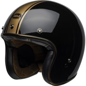BELL MOTO HELMETS CUSTOM 500 RALLY BLACK/BRONZE