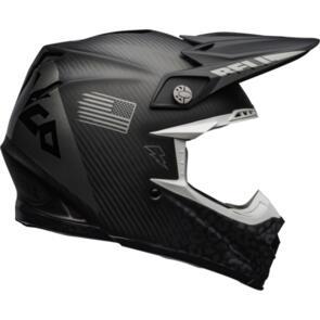 BELL MOTO HELMETS MOTO-9 FLEX SLAYCO MATTE/GLOSS BLACK/GRAY