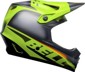 BELL HELMETS MOTO-9 MIPS YOUTH GLORY MATTE GREEN/BLACK/INFRARED