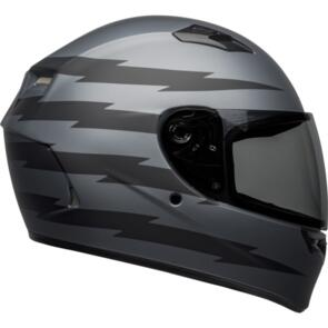 BELL MOTO HELMETS 2021 QUALIFIER Z RAY MATTE GREY/BLACK
