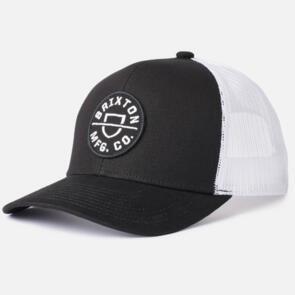 BRIXTON CREST X MP MESH CAP BLACK