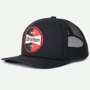 BRIXTON PATRON MP MESH CAP BLACK