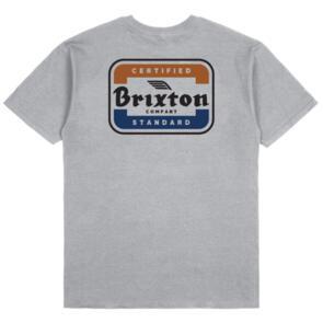 BRIXTON QUILL S/S STT SILVER