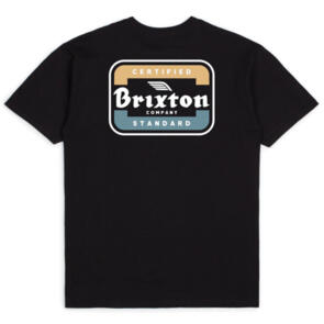 BRIXTON QUILL S/S STT BLACK/BLUE