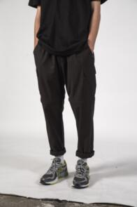 THING THING CARGO CON PANT BLACK