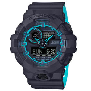 CASIO G-SHOCK DUAL TONE NAVY BLUE WATCH GA700SE-1A2