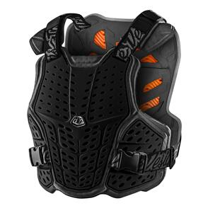 TROY LEE DESIGNS 2021 ROCKFIGHT CE CHEST PROTECTOR BLACK