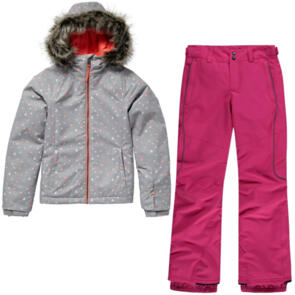 ONEILL SNOW 2020 YOUTH CURVE JACKET + YOUTH GIRLS CHARM PANTS