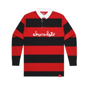 CHOCOLATE CHUNK RUGBY BLACK/RED