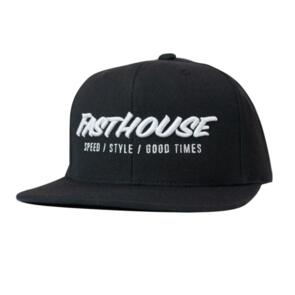 FASTHOUSE CLASSIC HAT BLACK