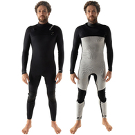 COASTLINES WETSUITS INSULATOR 3/2 CHEST ZIP GBS STEAMER BLACK