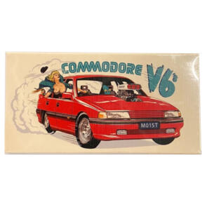 COMMODORE V6'S ABEC 6 BEARINGS