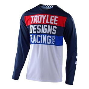 TROY LEE DESIGNS 2021 GP AIR JERSEY CONTINENTAL NAVY