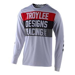 TROY LEE DESIGNS 2021 GP AIR JERSEY CONTINENTAL WHITE