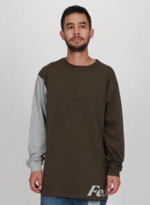 FEDERATION CONTRAST SUPREME CUFF - WRAPPED OLIVE / GREY MARLE