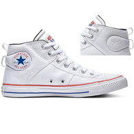 CONVERSE CS CT MID WHITE UNIVERSITY RED RUSH BLUE