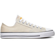 CONVERSE CTAS PRO LOW NATURAL IVORY/BLACK/ORANGE RIND