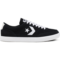 CONVERSE NET STAR CLSSIC SUEDE LOW BLACK WHITE WHITE