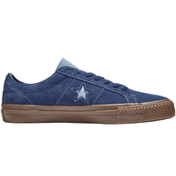 CONVERSE ONE STAR PRO LOW NAVY INDEGO FOG BROWN