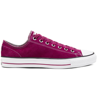 CONVERSE STAS PRO SUEDE LOW ROSE MAROON WHITE