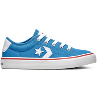 CONVERSE YOUTH STAR REPLAY TOTALLY BLUE WHITE