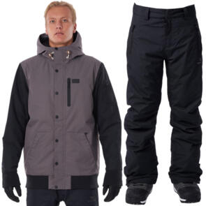 RIP CURL SNOW 2021 TRACTION JACKET + BASE PANT COMBO!