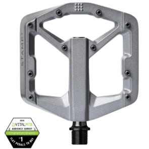 CRANK BROTHERS CRANKBROTHERS PEDAL STAMP 3 GREY MAGNESIUM