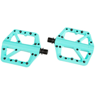 CRANK BROTHERS PEDAL STAMP 1 TURQUOISE