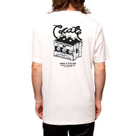 CRATE X GOOD GEORGE TEE WHITE