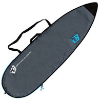 """CREATURES 6'7"""" 2019 SHORTBOARD LITE COVER CHARCOAL CYAN"""