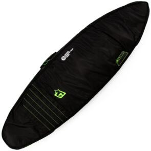 CREATURES OF LEISURE SHORTBOARD DOUBLE COVER BLACK LIME