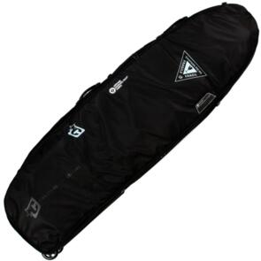 CREATURES OF LEISURE SHORTBOARD QUAD WHEELY BAG BLACK CHARCOAL