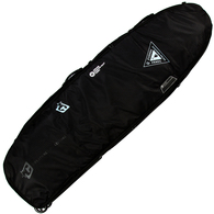 """CREATURES OF LEISURE 6'3"""" SHORTBOARD QUAD WHEELY COVER BLACK CHARCOAL"""