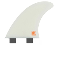 CREATURES OF LEISURE 2020 VERT ICON FCS THRUSTER FINS MED WHITE
