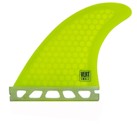 CREATURES 2020 VERT ICON FUTURES THRUSTER FINS SMALL YELLOW