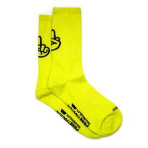 STRAYE BIRDIE SOCKS SAFETY YELLOW