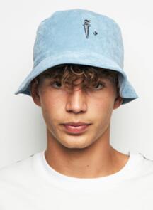 FEDERATION BUCKET HAT  - F DAGGER BLUE