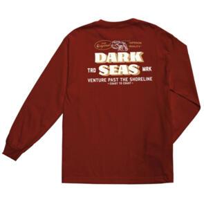 DARK SEAS DIVISION THE ORIGINAL L/S TEE CARDINAL