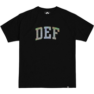 DEF NZD ARCH HOLOGRAPHIC TEE BLACK