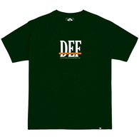 DEF DEF PEOPLE TEE FOREST GREEN