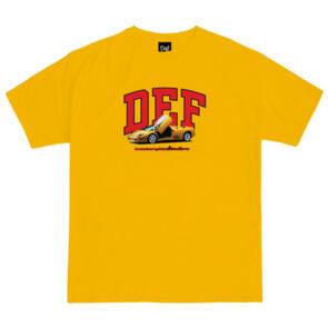 DEF DIABLO TEE GOLD