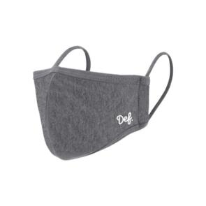 DEF MINI SI RE-USABLE FACE MASK CHARCOAL