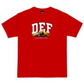 DEF DIABLO TEE RED