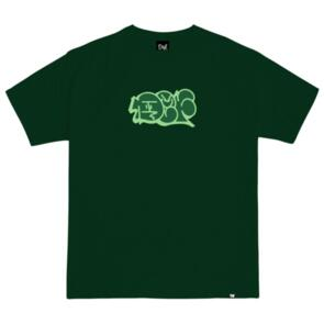 DEF THROWUP TEE FOREST GREEN