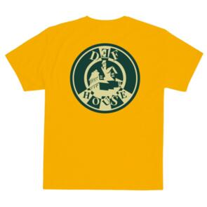 DEF HOUSE TEE (PATCH/PRINT) GOLD