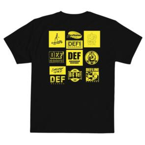 DEF UNSEARCHABLE TEE BLACK