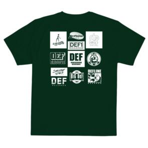 DEF UNSEARCHABLE TEE FOREST GREEN