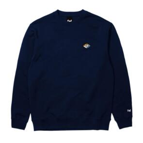 DEF AWG RUBBER PATCH CREW (300GSM) NAVY