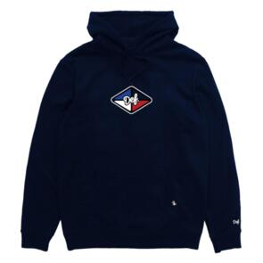 DEF AWG RUBBER PATCH HOOD (350GSM) NAVY